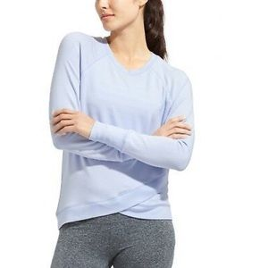 Athleta Criss across Front Sweatshirt